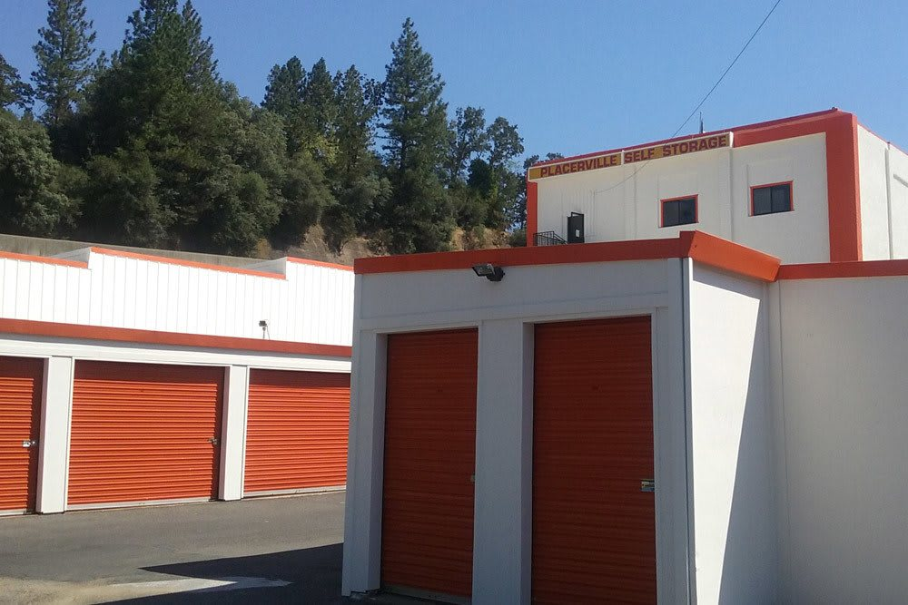 ... Exterior Units At Placerville Self Storage ...