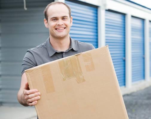 moving supplies at StorageMax