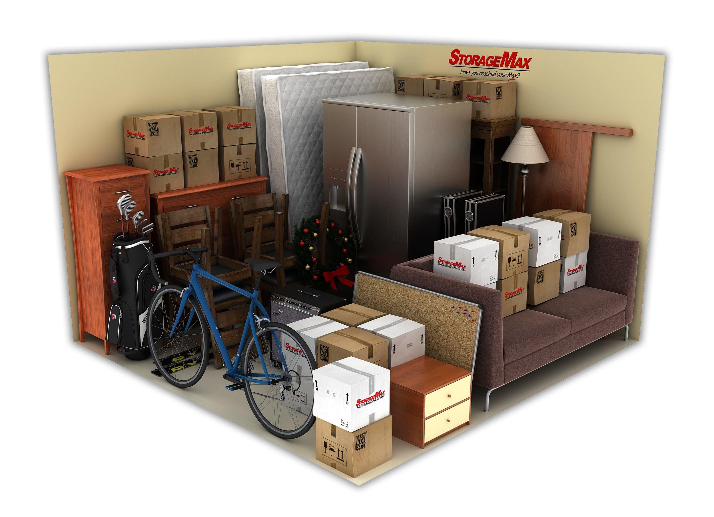 storagemax s storage unit size guide