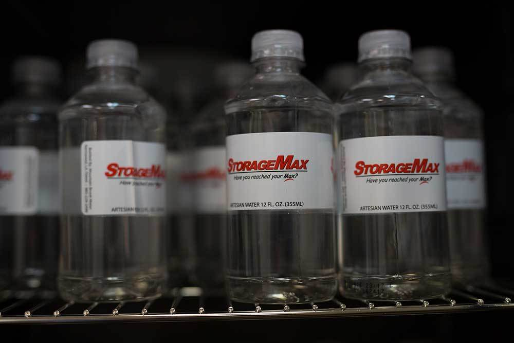 Stay hydrated. StorageMax Northtown offers complimentary water so you won't ever be parched!