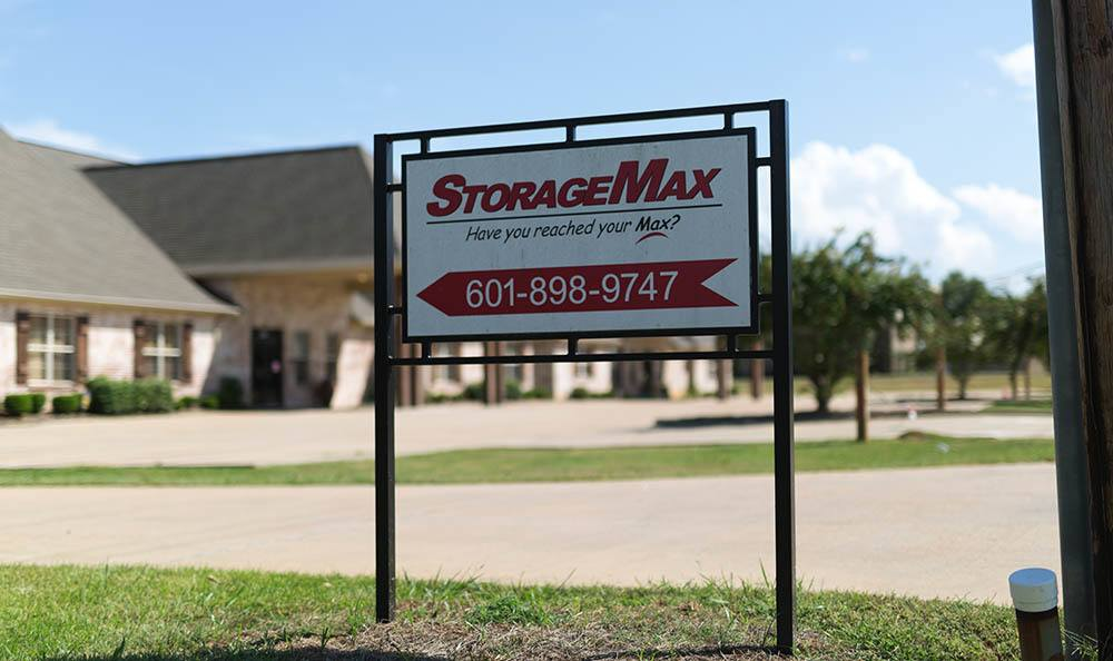 Outdoor sign for Self-Storage in Madison