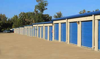 Outdoor units at StorageMax Brandon