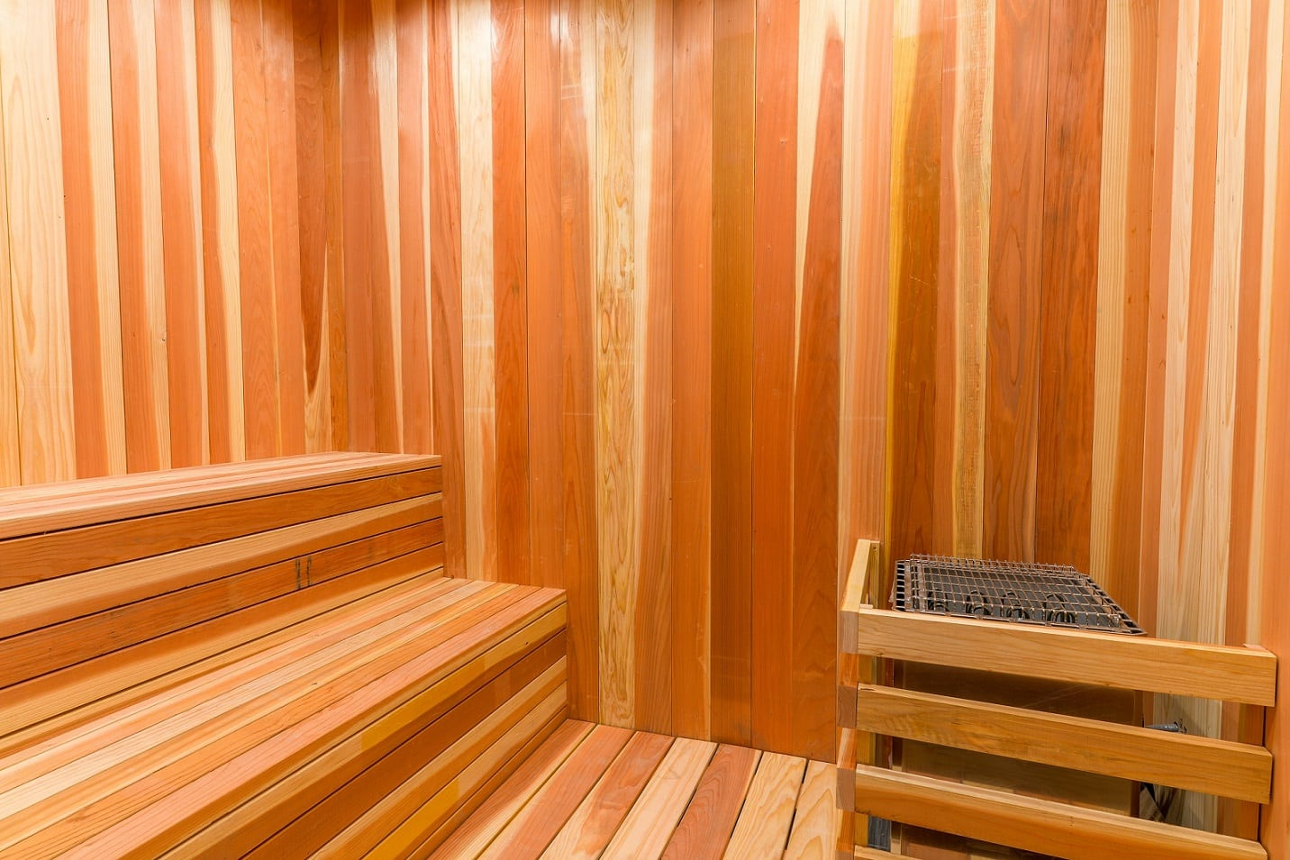 Catch up with friends, while relaxing in the sauna at EVO Apartments