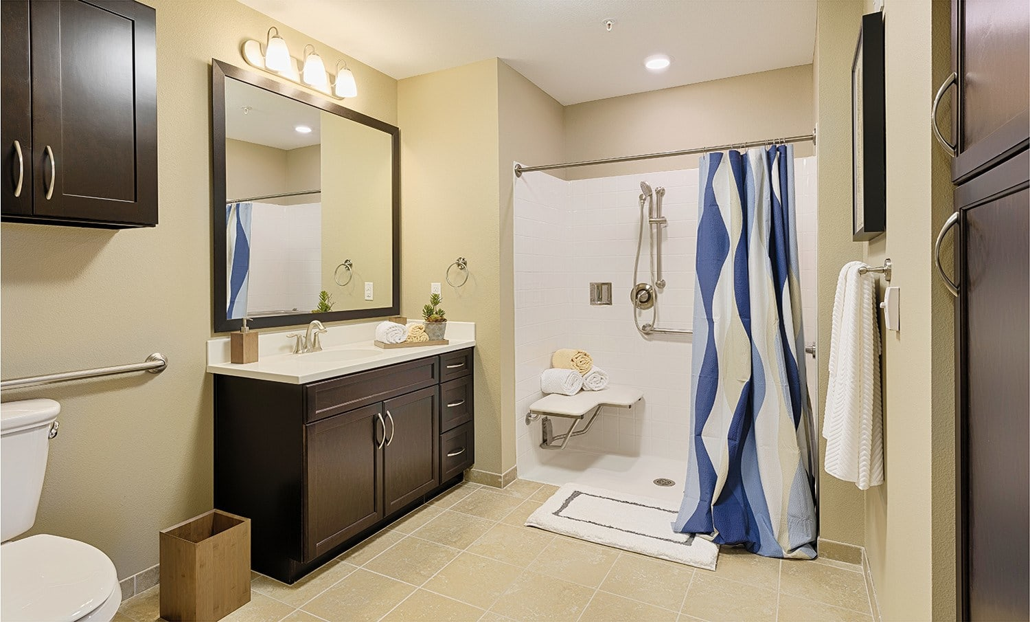 Kingston Bay Senior Living apartment bath