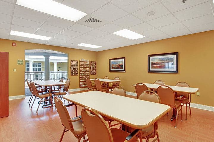 Activity Kitchen At Our Senior Living Home In Blandon