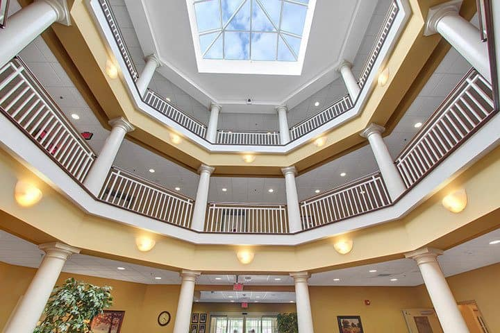 Atrium At Our Senior Living Home In Blandon
