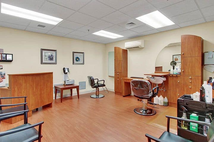 Beauty Salon At Our Senior Living Home In Blandon