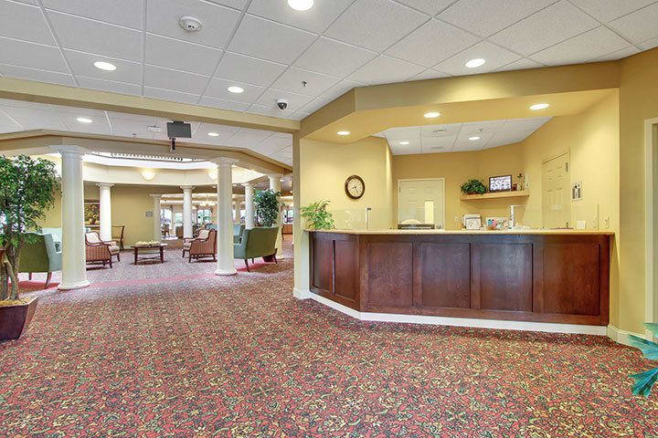 Concierge At Our Senior Living Home In Blandon