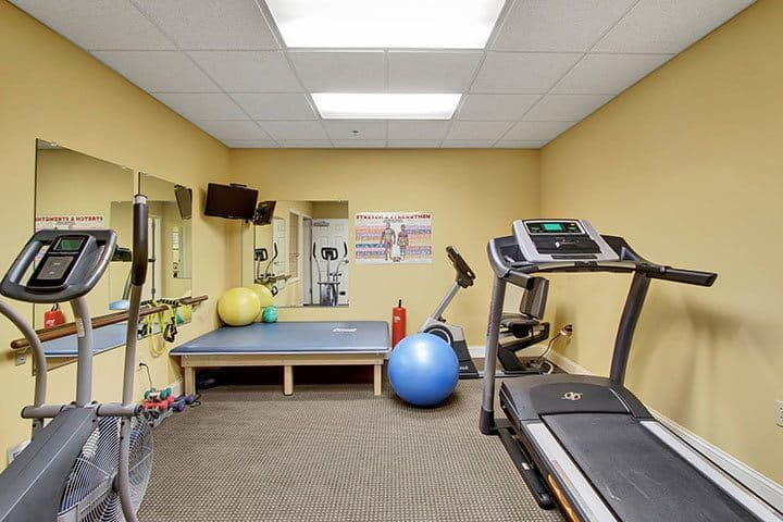 Exercise Gym At Our Senior Living Home In Blandon