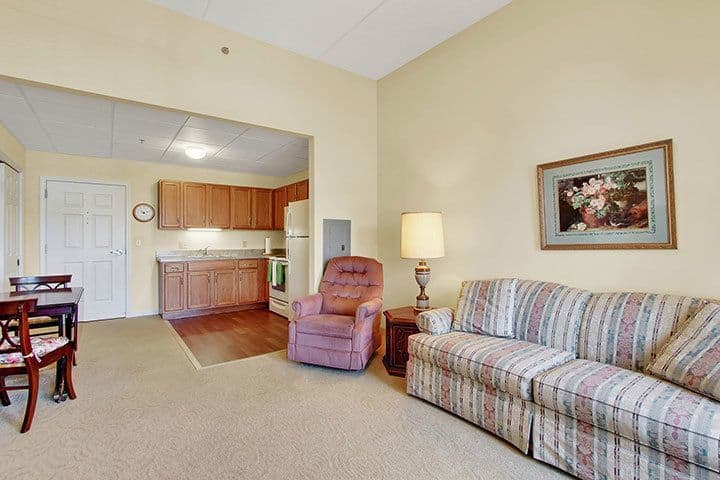 One Bedroom Apartment At Our Senior Living Home In Blandon