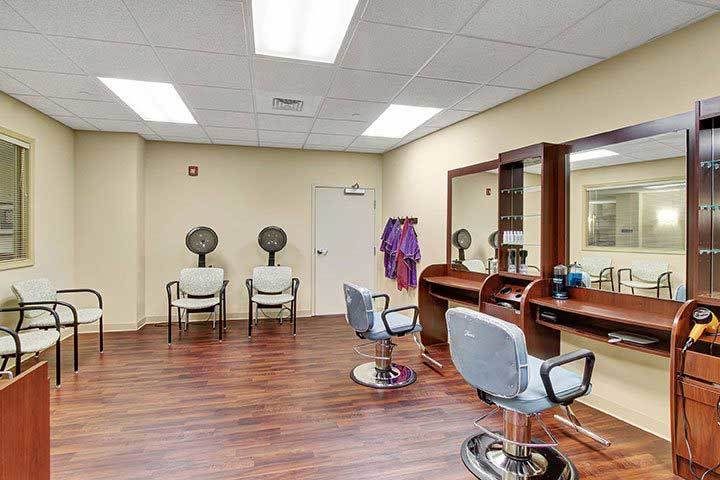 Beauty Salon At Our Senior Living Home In Ephrata