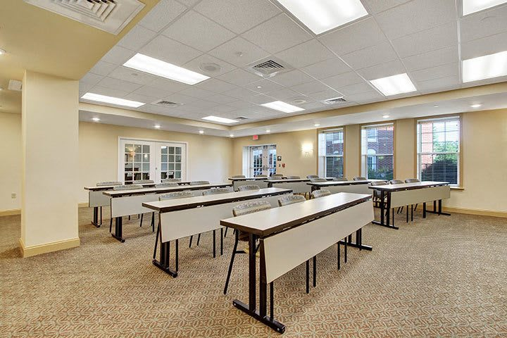 Community Room At Our Senior Living Home In Ephrata