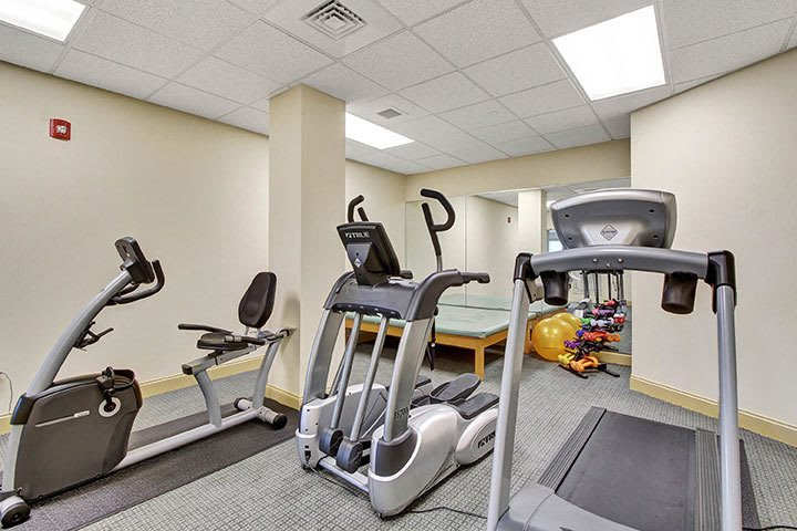 Exercise Gym At Our Senior Living Home In Ephrata