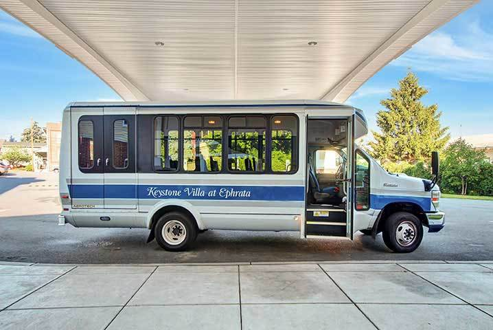 Shuttle Transportation At Our Senior Living Home In Ephrata