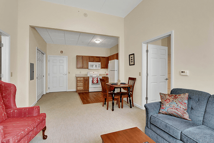 Two Bedroom Apartment At Our Senior Living Home In Ephrata