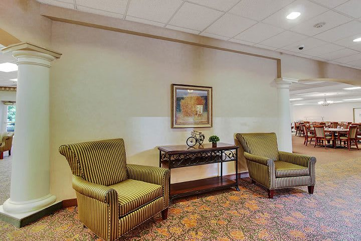 Atrium At Our Senior Living Home In Douglassville