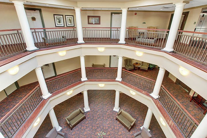 Atrium View At Our Senior Living Home In Douglassville