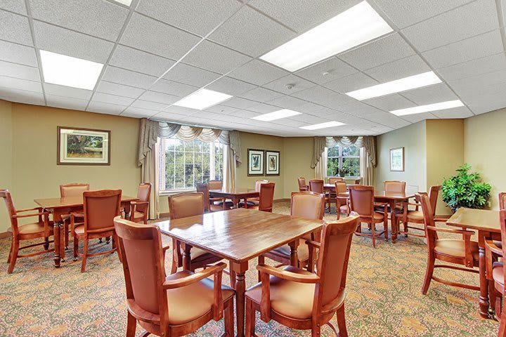 Card Room At Our Senior Living Home In Douglassville