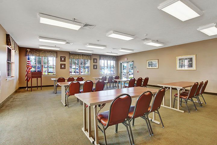 Community Room At Our Senior Living Home In Douglassville