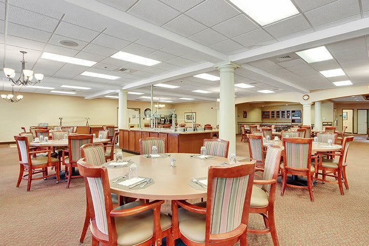 Dining Room At Our Senior Living Home In Douglassville