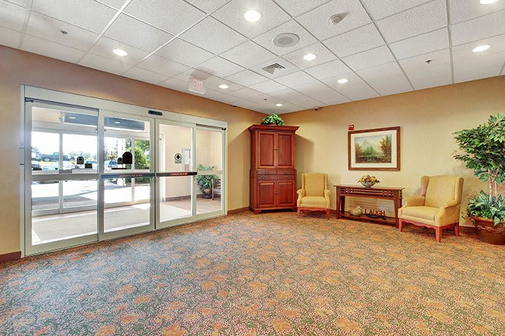 Entry At Our Senior Living Home In Douglassville