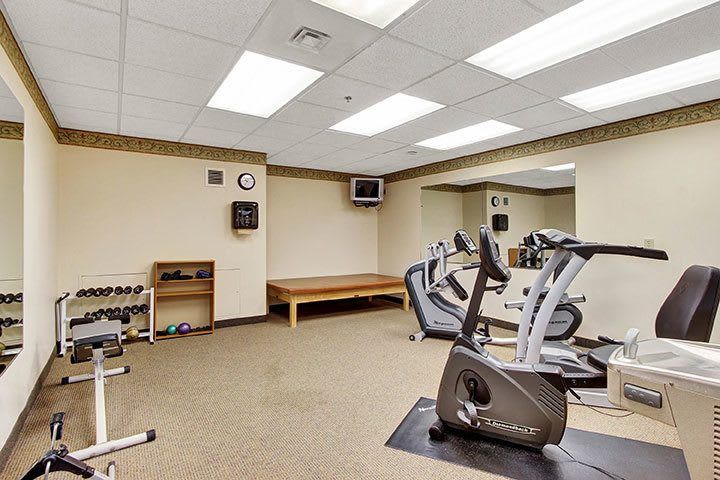 Exercise Gym At Our Senior Living Home In Douglassville