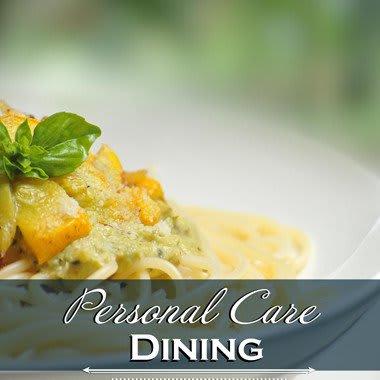 Assisted living dining options at Keystone Villa at Douglassville
