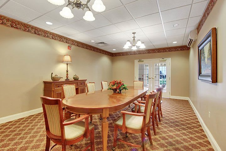 Private Dining At Our Senior Living Home In Douglassville