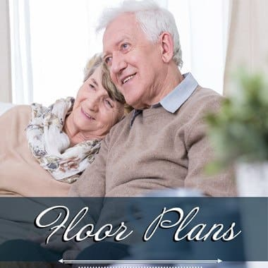 independent living floor plans at Sagebrook Senior Living at Bellevue