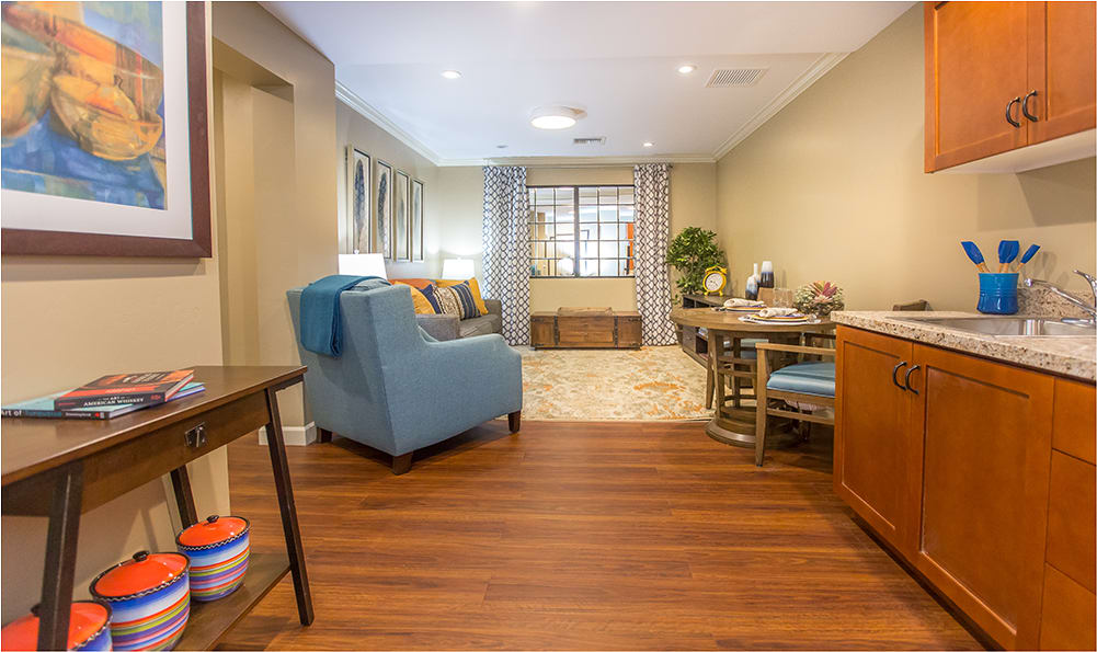 Tour our beautiful new senior living apartments at  Sage Desert