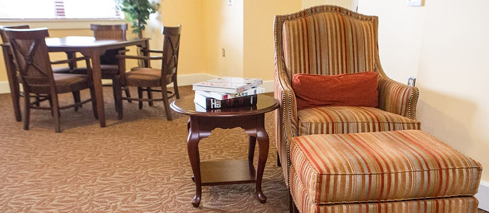 There are plenty of opportunities to make friends at Locust Grove Personal Care & Memory Care