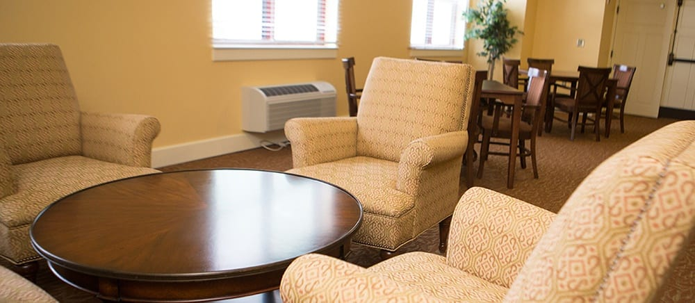 A sitting area at Locust Grove Personal Care & Memory Care