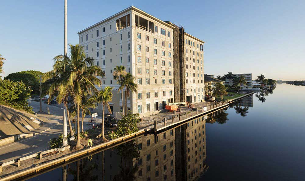 Construction of senior living in Fort Lauderdale, FL