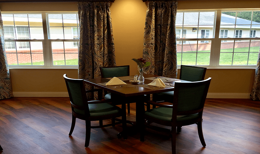 Schedule a tour and complimentary lunch at  Brookridge Heights in Marquette