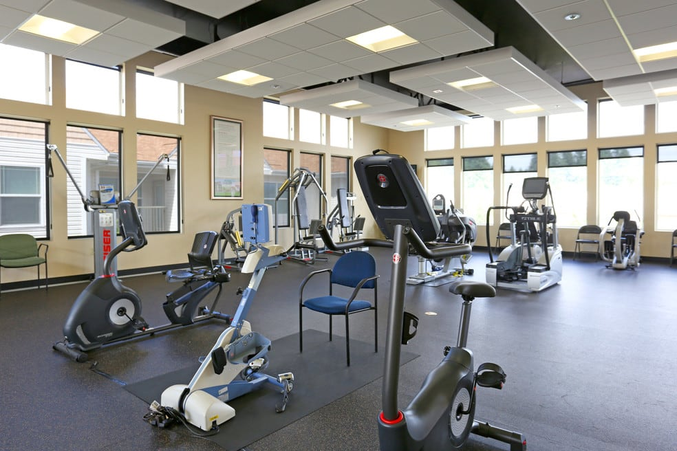 Enjoy exclusive access to the Sky Gym at The Lofts at Glenwood Place