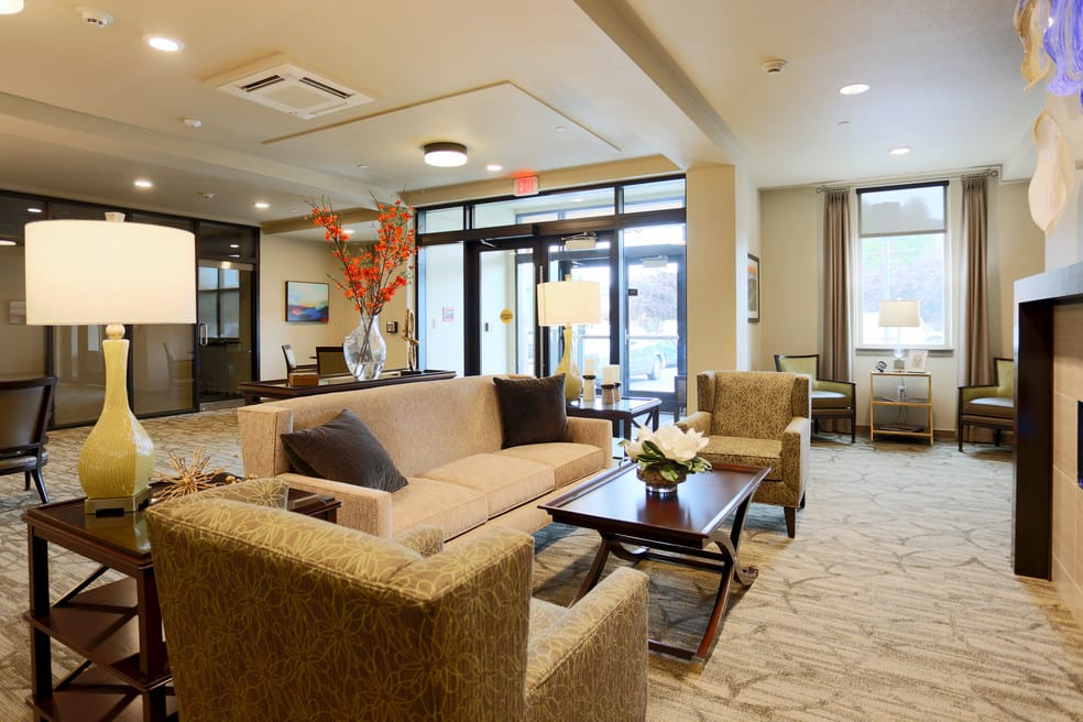 Enjoy the warm, welcoming environment for seniors 62 plus at The Lofts at Glenwood Place