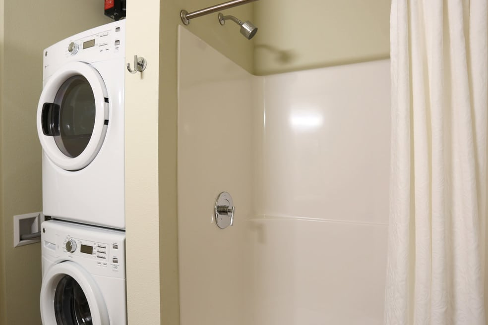 We offer in-unit washer and dryer hookups at  The Lofts at Glenwood Place