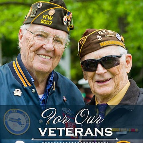 For our Vets at Oak Terrace Memory Care