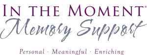 In the Moment Memory Care logo at Lakewood Memory Care in Lakewood, Colorado
