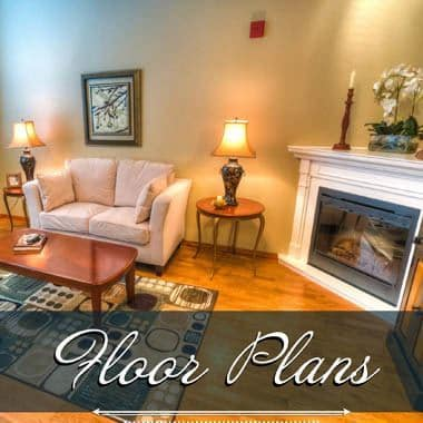 independent living floor plans at The Quarry Senior Living