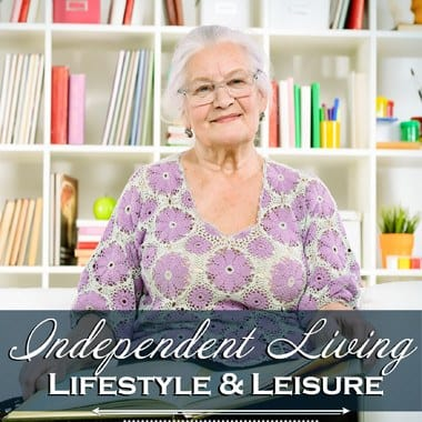 Independent living enrichment opportunities at Flagstone Senior Living