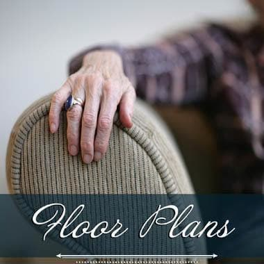 Memory care floor plans at Pheasant Ridge Senior Living