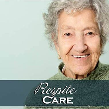 Respite Care Patient at Symphony at Cherry Hill in Cherry Hill.