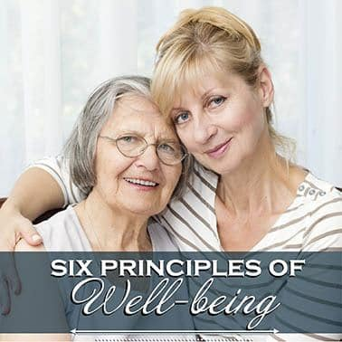 Six Elements of Wellbeing at Maple Leaf Assisted Living & Memory Care