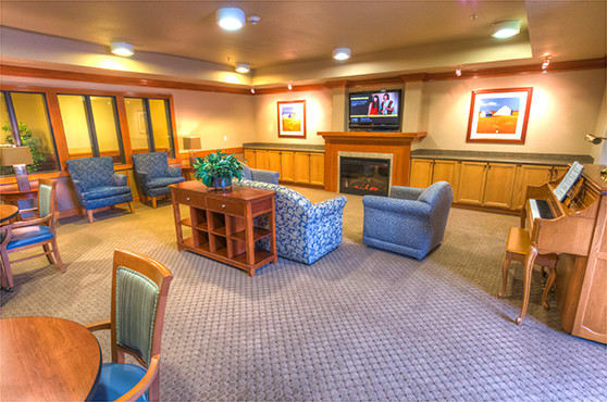 The Lodge TV Room