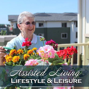 Assisted living enrichment opportunities at The Quarry Senior Living