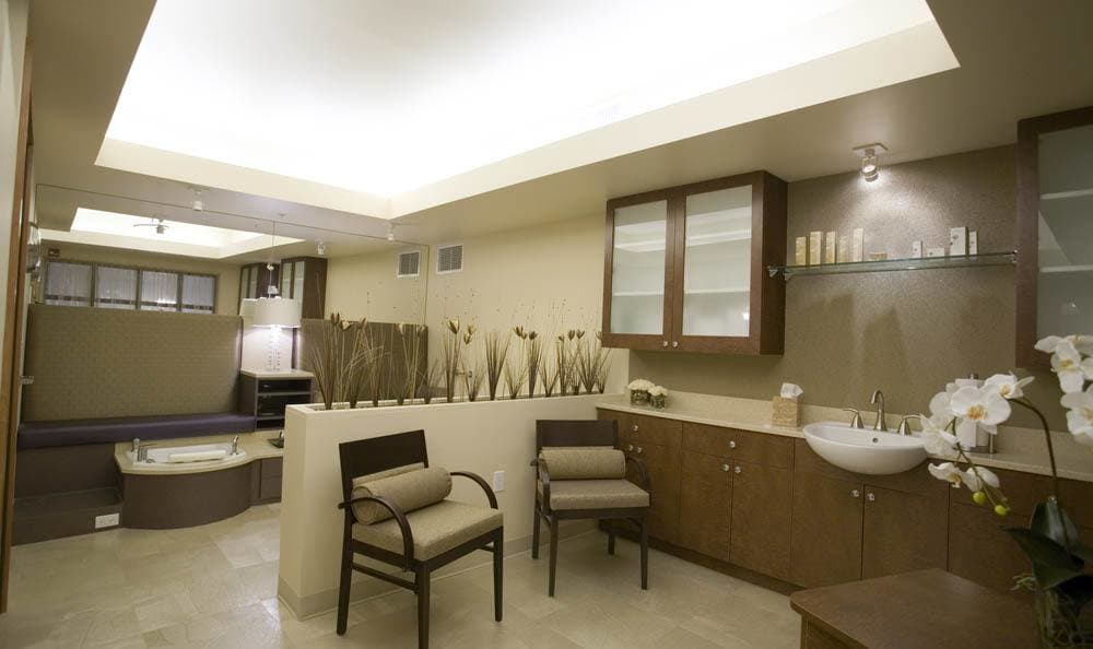 The Quarry Senior Living spa room in Vancouver.