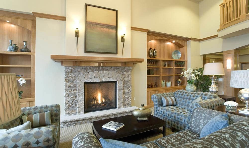 Large Spacious Hearth At The Quarry Senior Living in Vancouver.