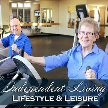 Independent living enrichment opportunities at The Quarry Senior Living