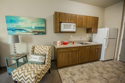 Studio apartment at  Almond Heights Senior Living in Orangevale